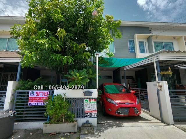For SaleTownhouseSamrong, Samut Prakan : Very cheap sale Townhouse The Connect 10, bearing station