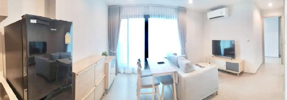 For RentCondoLadprao, Central Ladprao : Condo for rent Life Ladprao,💥good price, 2 bedrooms, 1 bathroom💥, next to BTS Ha Yaek Lat Phrao station, fully furnished and electrical appliances.  Size 49.5 sq.m., Building A, 26th floor  💰 Rental price 28,000 baht / month
