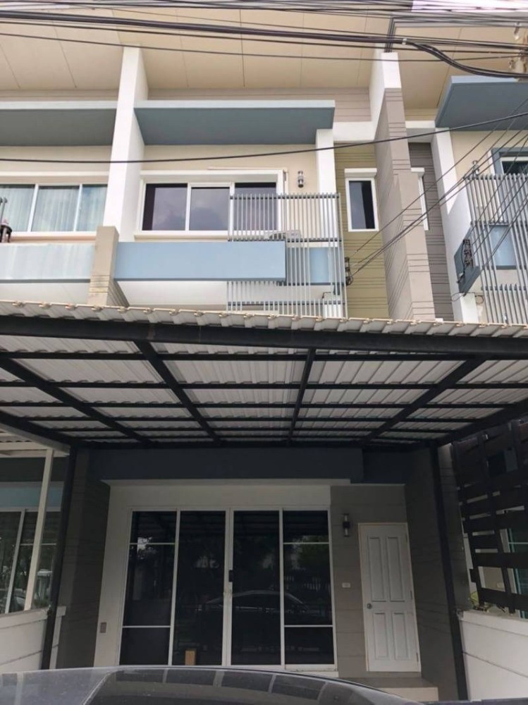 For RentTownhouseRamkhamhaeng, Hua Mak : KRT140827 For rent Town Avenue Rama 9 with furniture + appliances