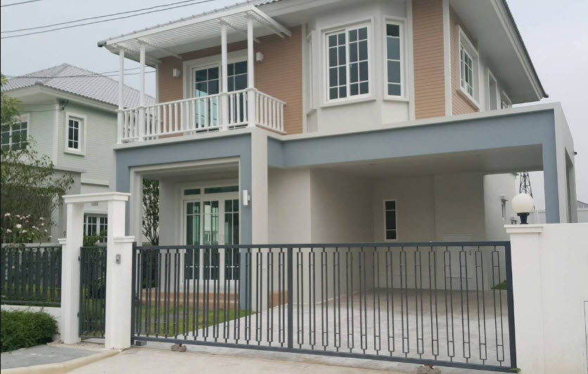 For RentHouseNawamin, Ramindra : 2 storey detached house for rent, Chuan Chuen City, Northville-Watcharapol, 3 bedrooms *** new condition suitable for living and office