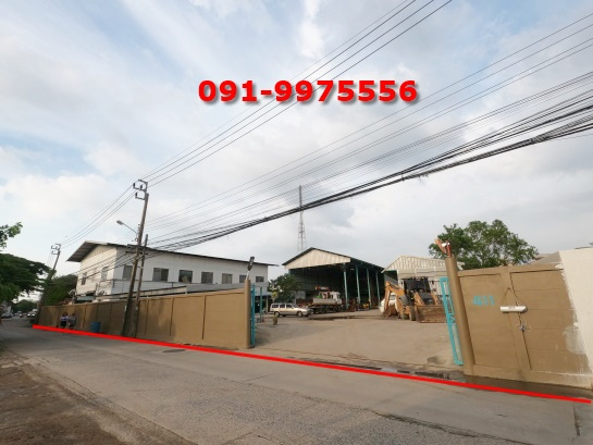 For SaleLandLadprao101, The Mall Bang Kapi : Land for sale Ladprao 107, near RBAC University (Rattana Bundit), area 612 sq m, near The Mall Bangkapi, 2 train lines, namely the Yellow Line, Bang Kapi Station and the Orange Line, Lam Sali Station.