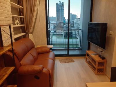 For RentCondoRatchadapisek, Huaikwang, Suttisan : !! Beautiful room for rent: Quinn Ratchada 17 (Quinn Condominium Ratchada 17) near MRT Sutthisan