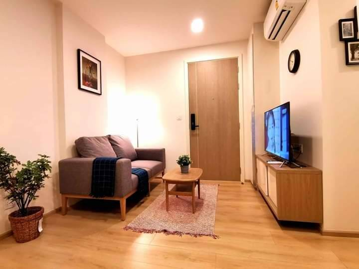 For RentCondoOnnut, Udomsuk : +++ Urgent rent, very beautiful room +++ Chambers On Nut Station, fully furnished, 1 bedroom, 28 square meters, beautiful open room