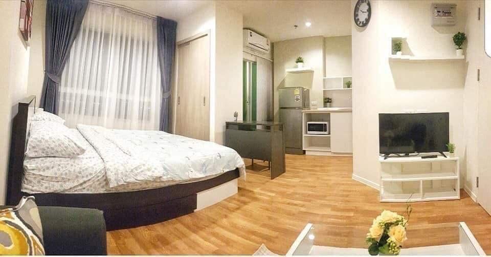 For RentCondoBang kae, Phetkasem : Condo for rent @ Lumpini Park Phetkasem 98 Building D Studio 22.5 sqm. Fully furnished 6,500 baht / month