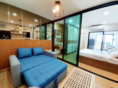 For RentCondoChengwatana, Muangthong : A1364 For Rent Supalai Loft Chaengwattana   1 bed size 33.5 sq m. * MRT Si Rat Station - Pink Line