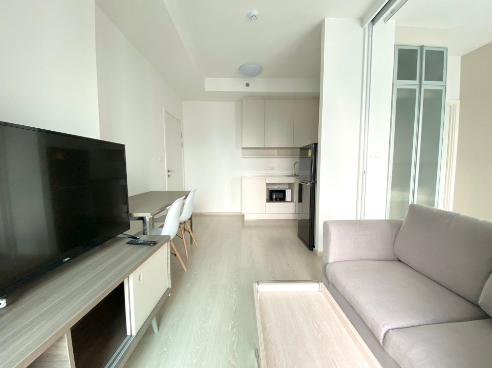 For RentCondoRatchadapisek, Huaikwang, Suttisan : Condo for rent Chapter one eco Fully Furnished