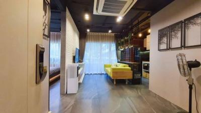 For SaleCondoOnnut, Udomsuk : +++ Urgent sale +++ Very beautiful room +++ Elio Del Ray * 1 bedroom 45.27 sq m, 1st floor, beautiful decoration, high ceiling, corner room ready.