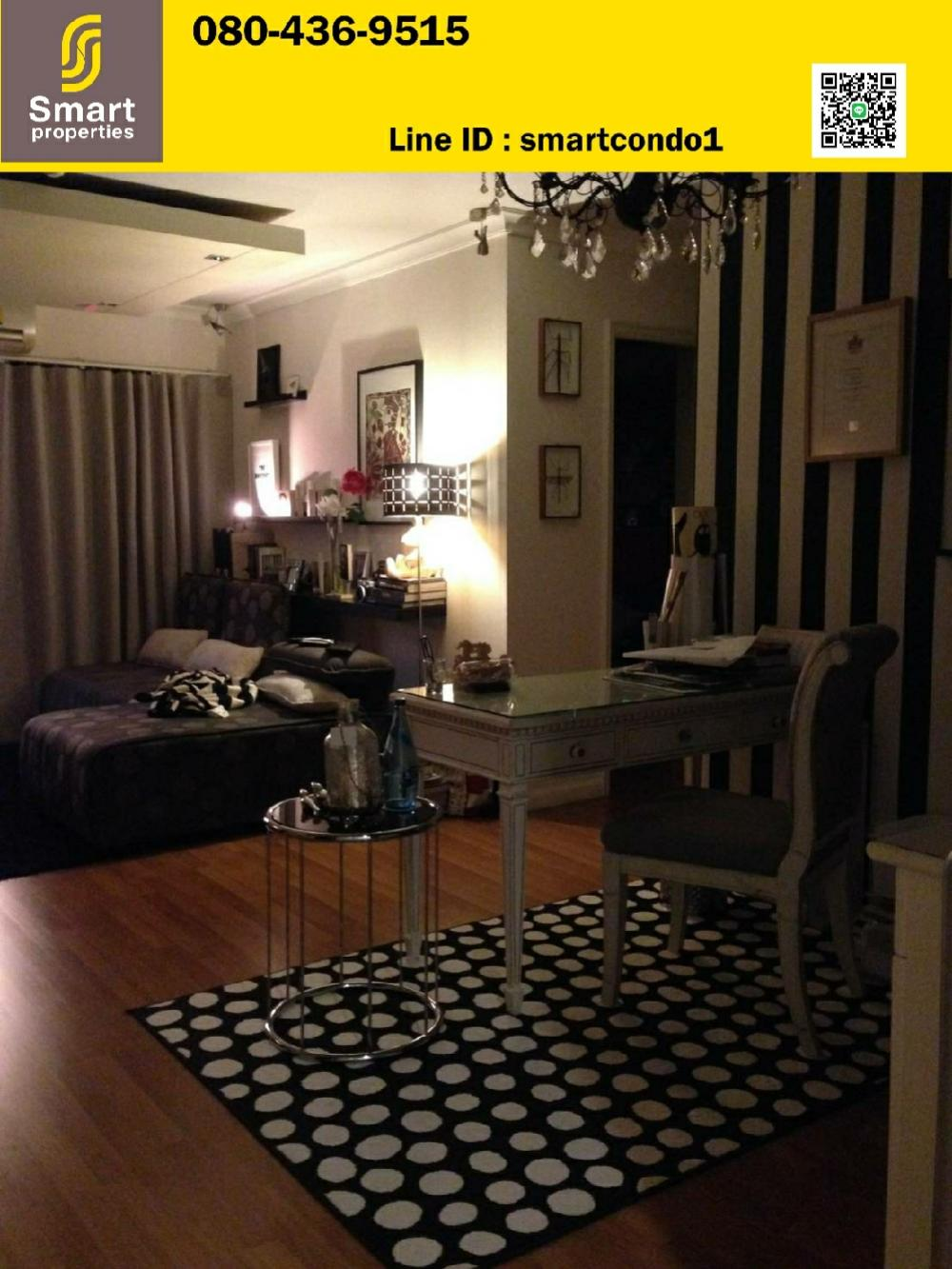 For SaleCondoRama3 (Riverside),Satupadit : Condo for sale Lumpini Place Narathiwat-Chaopraya 2 bedrooms, 2 bathrooms, 65 sq m, 24th floor, building C ** river view **, beautiful decoration, fully furnished, ready to move in.