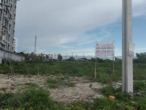 ขายที่ดินสำโรง สมุทรปราการ : ลดกว่า 2 ล้าน แถมฟรีค่าโอน ขายที่ดินเปล่า 380 ตรว. แปลงสี่เหลี่ยมสวย ที่ถมแล้ว ใกล้เอแบค, ห้างวิวพอยส์ บางนาตราด กม 26 เหมาะทำคอนโดอพาร์ทเม้นท์