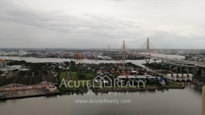 For SaleCondoRama3 (Riverside),Satupadit : The Pano Riverfront condominium for sale and rent, Chaophraya river Rama 3 road