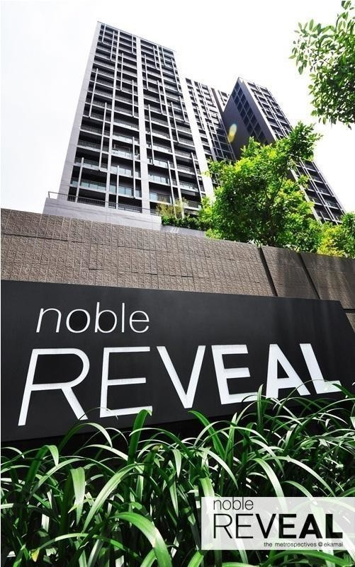 For SaleCondoSukhumvit, Asoke, Thonglor : NOBLE REVEAL special price, buy yourself / invest, call 099 364 1554