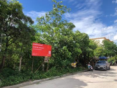For SaleLandPattaya, Bangsaen, Chonburi : [14 มีนา 2564] ที่ดินเปล่าแปลงมุม 3 ไร่ 0 งาน 90 ตารางวา ซอยเรืองอร่าม อมตะนคร ถนนบ้านเก่า 5 ชลบุรี