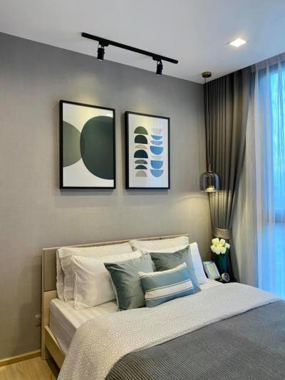 For RentCondoSapankwai,Jatujak : +++ Urgent rent +++ Beautiful room The Line Phahol - Pradipat 1 bedroom 27 sq m, 9th floor, fully furnished.