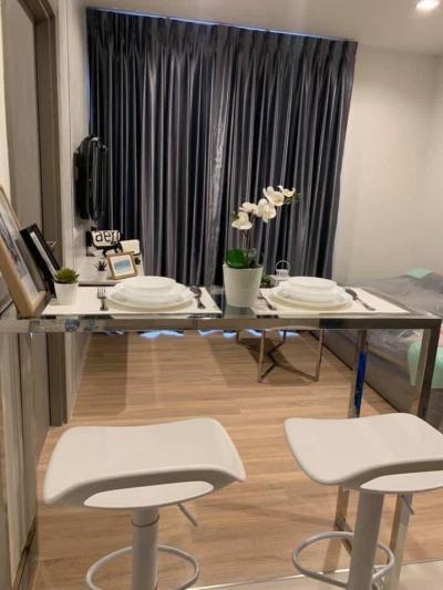 ขายคอนโดพระราม 9 เพชรบุรีตัดใหม่ : +++ ขายด่วน ห้องสวย+++ THE BASE Garden-Rama 9 *, 1 ห้องนอน ขนาด 32  ตร.ม. แต่งครบพร้อมอยู่