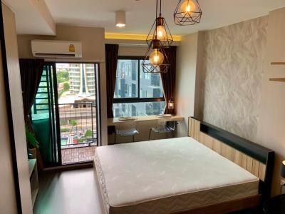 เช่าคอนโดอ่อนนุช อุดมสุข : 1001ให้เช่าด่วน คอนโด เจ้าของรีบปล่อย Ideo Sukhumvit 93 (ไอดีโอ สุขุมวิท 93) ราคา 13,000 บาท ขนาด 26 ตรม.ห้องนอน Studio (ห้องมุม) ชั้น 11 ตึก A วิว เมือง