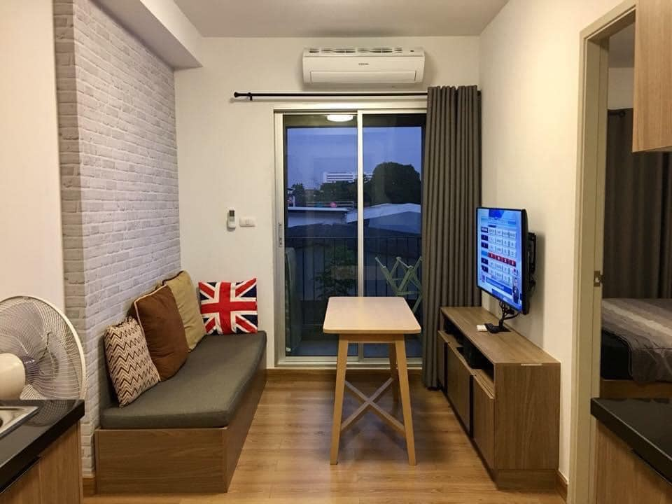 For RentCondoLadprao, Central Ladprao : Condo for rent, CHAPTER ONE THE CAMPUS Ladprao 1, beautiful room, fully furnished, only 10,000