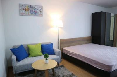 For RentCondoChengwatana, Muangthong : Condo for rent, Supalai Loft Chaengwattana, studio room, fully furnished.