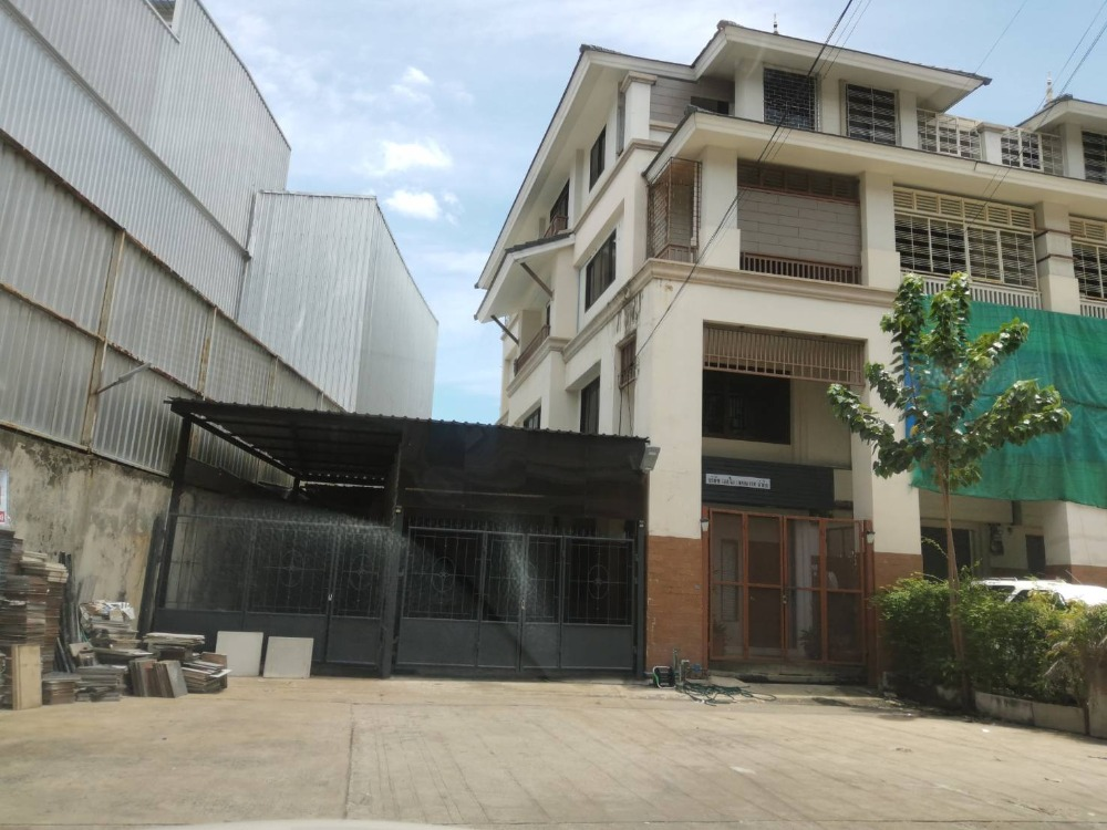 For RentShophouseRama 2, Bang Khun Thian : 4-storey commercial building for rent, corner room, Thonburi University, Compex Rama 2 Soi 60