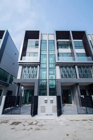 เช่าทาวน์เฮ้าส์/ทาวน์โฮมวิภาวดี ดอนเมือง : ให้เช่าโฮมออฟฟิศใหม่ 4 ชั้น ย่านดอนเมือง-สรงประภาพร้อมลิฟท์ ใกล้รถไฟฟ้าสายสีแดงสถานีดอนเมือง