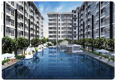 For SaleCondoPattaya, Bangsaen, Chonburi : Condo for sale Bowin Sriracha ready to move in.