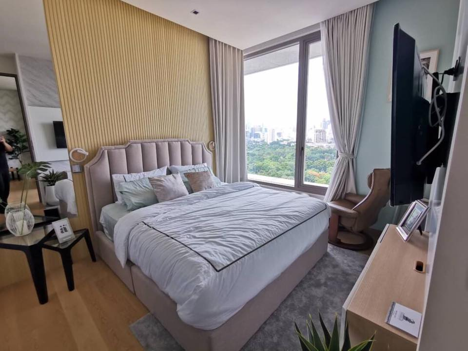 For RentCondoSilom, Saladaeng, Bangrak : ✅ For Rent ** Saladaeng One, very nice decoration, great view, ready to move in **