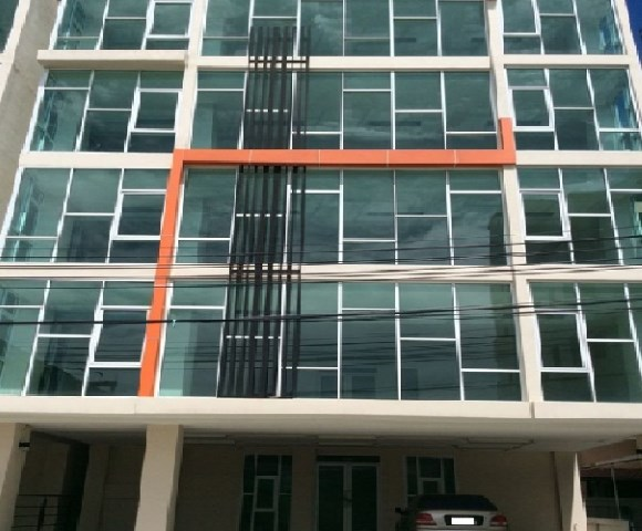 For SaleOfficeRattanathibet, Sanambinna : 5-storey office building for sale with elevators, The Prime Office project, The Prime Office Khae Rai-Rattanathibet, next to MRT Nonthaburi intersection 1, special price.