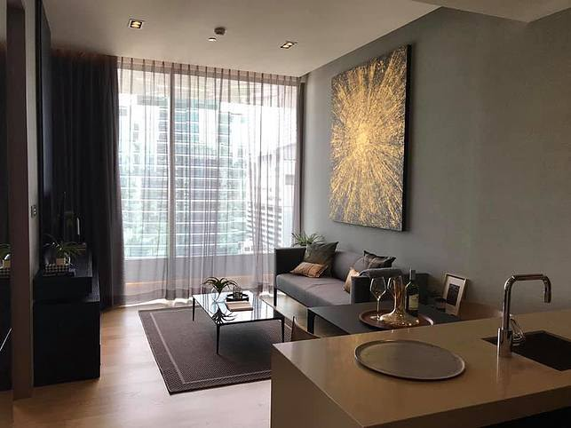 For RentCondoSilom, Saladaeng, Bangrak : ✅ For Rent ** Saladaeng One, decorated very nicely, does not block the view, ready to move in **