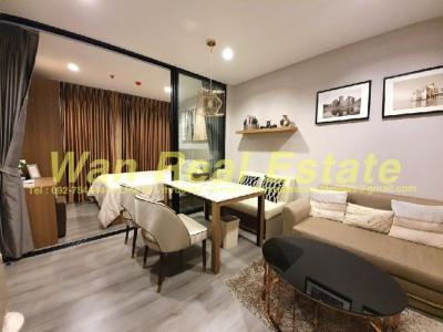 For SaleCondoRattanathibet, Sanambinna : Condo for sale polutan rive, 19th floor, size 30 sq m, beautiful decoration, river view, complete, ready to move in.