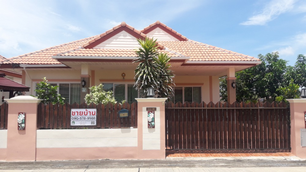 For SaleHouseKorat KhaoYai : ** Secondhand houses for sale ** 3 bedrooms, 2 bathrooms, fully furnished + home decorations Sirarom Village, Khok Kruat, Nong Pet Nam, near Nava Nakorn Industrial Estate, Korat, Nakhon Ratchasima