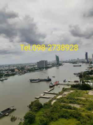 For RentCondoRama3 (Riverside),Satupadit : Available for rent 13,000 views, Rama 9 Bridge, Condo U Delight Residence Riverfront, not temple view.