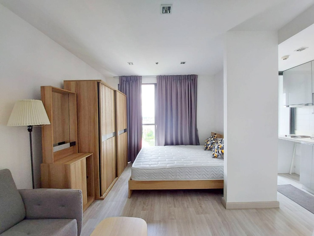 For RentCondoSukhumvit, Asoke, Thonglor : Condo for rent, Ideo mobi, On Nut, size 21 sqm, 11,000 baht, beautifully decorated.
