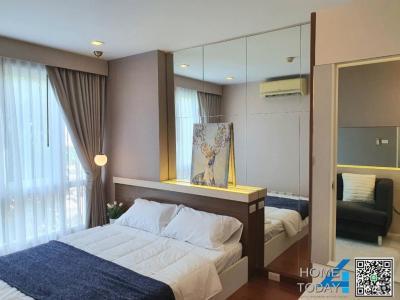 For SaleCondoLadkrabang, Suwannaphum Airport : Urgent sale, Air Link Residence Condo, very beautiful room, new decoration, installment only 7,900 baht