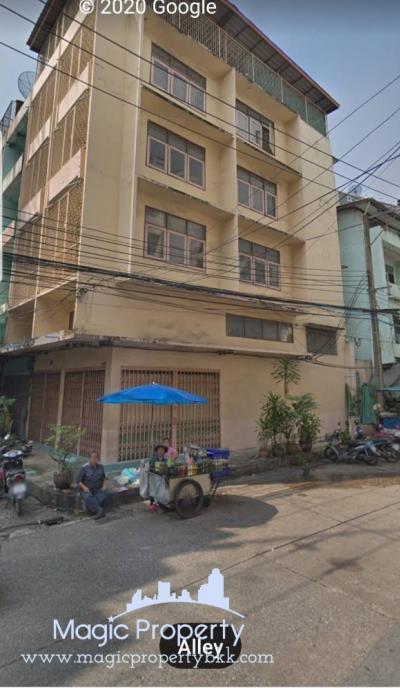 เช่าสำนักงานคลองเตย กล้วยน้ำไท : ให้เช่า อาคารพาณิชย์ 5 ชั้นครึ่ง ติดถนนเกษมราษฎร์ ใกล้โลตัสพระราม 4 (Building for Rent Near Lotus Rama 4)