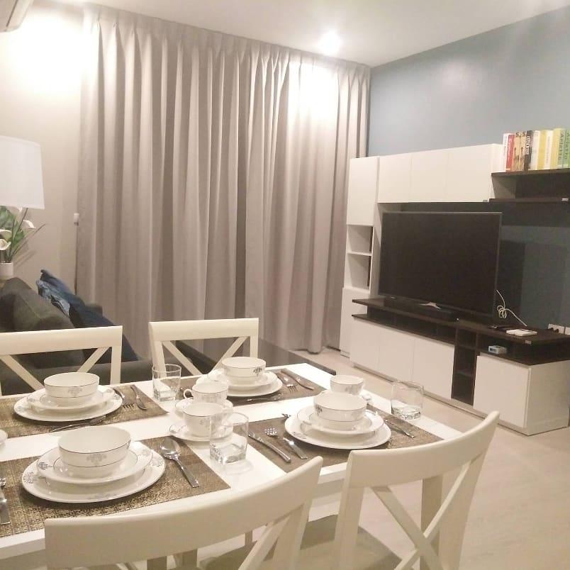 เช่าคอนโดพระราม 9 เพชรบุรีตัดใหม่ : For Rent  The Niche Pride Thonglor – Phetchaburi Condominium.