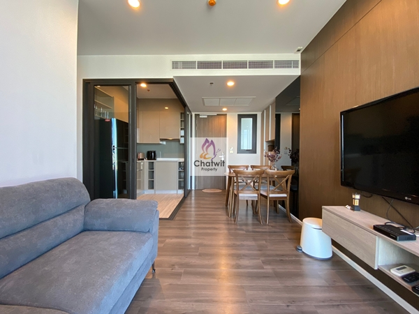 For RentCondoOnnut, Udomsuk : For rent Whizdom Essence Sukhumvit 101/1 2 bedroom, corner room