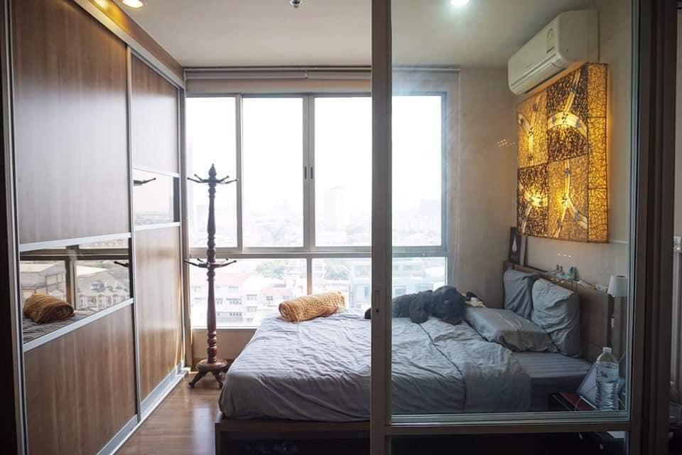 For SaleCondoBang Sue, Wong Sawang : A1249 Urgent sale, The Tree Bangpo Station | Studio glass partition, size 29 sqm., beautiful room *MRT Bang Pho