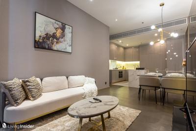 เช่าคอนโดพระราม 9 เพชรบุรีตัดใหม่ : ให้เช่า The Esse at Singha Complex 76 ตรม. 2 ห้องนอน ชั้นสูง วิวสวย ติด MRT ใกล้ มศว. ห้องพร้อมอยู่