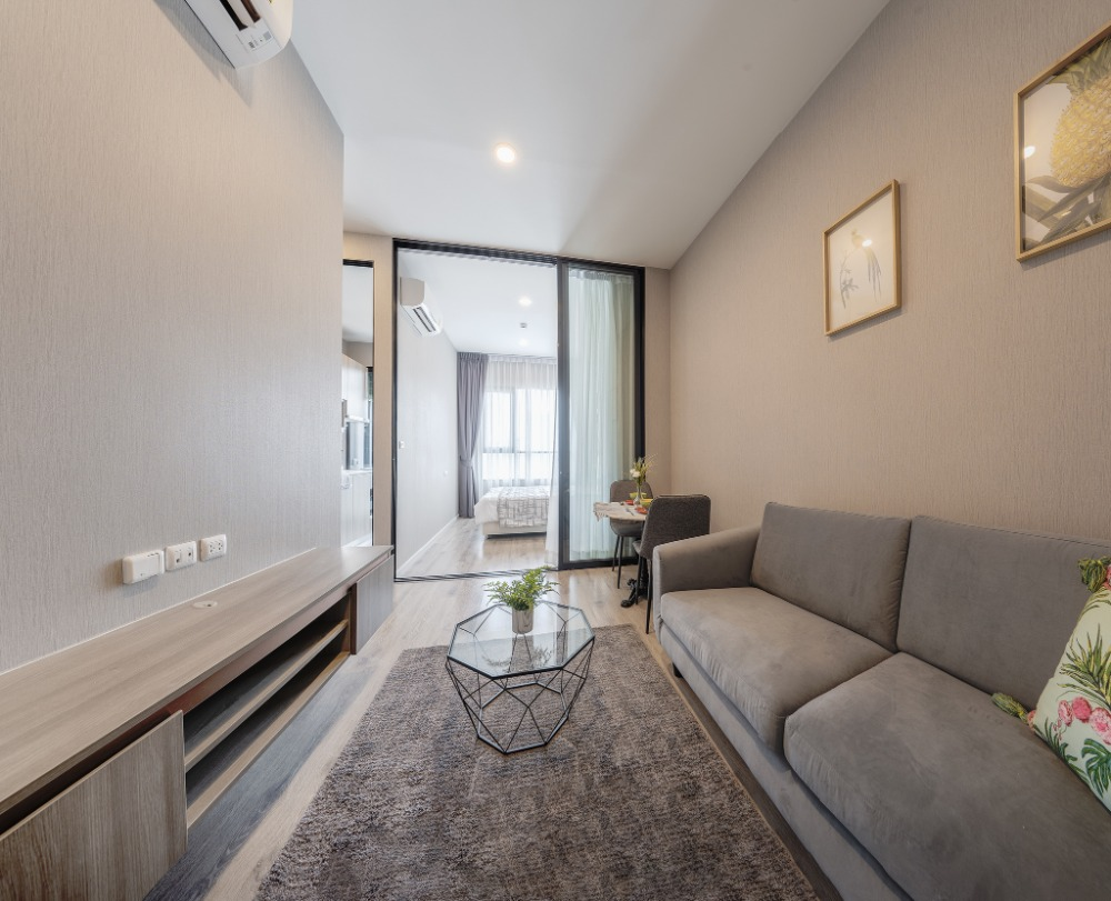 For SaleCondoKasetsart, Ratchayothin : 1 bedroom unit for sale, 27.8 sqm., Fully furnished, ready to move in / rent