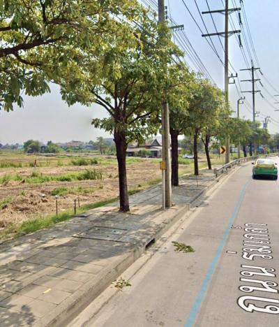 For SaleLandRamkhamhaeng,Min Buri, Romklao : ขายที่ดินติดถนนร่มเกล้า 42-3-22 ไร่ ติดซอย3 ใกล้ บิ๊กซี ไทวัสดุ