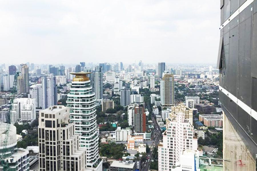 For SaleCondoSukhumvit, Asoke, Thonglor : | on 4x floor | SALE FOR SALE MARQUE Sukhumvit (Mark Sukhumvit) 39 - SEMI PENTHOUSE - 4beds 5baths - BTS Phrom Phong 50meters & Next to EmQuartier department store