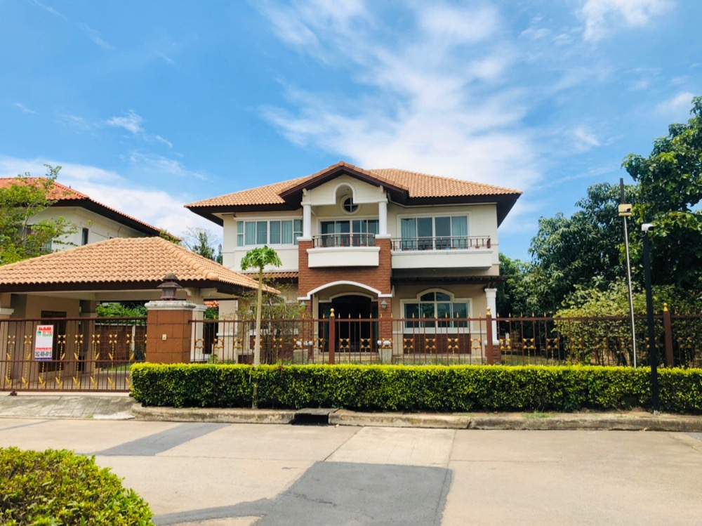 For SaleHouseLadkrabang, Suwannaphum Airport : The cheapest sale, Supalai-Suvarnabhumi village, Lat Krabang, behind the rim of 143 square meters, area used 338 square meters, wide area, this price can not be found.