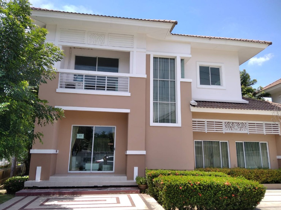 For SaleHouseBang kae, Phetkasem : ขายบ้านเดี่ยว ค้างสต็อคมือ1 หมู่บ้านแลนซีโอ้ เพชรเกษม77  4,800,000บาท โทร0805455651