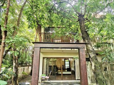 เช่าบ้านพัฒนาการ ศรีนครินทร์ : ให้เช่า บ้านเดี่ยว บรรยากาศในสวน กรุงเทพกรีฑา