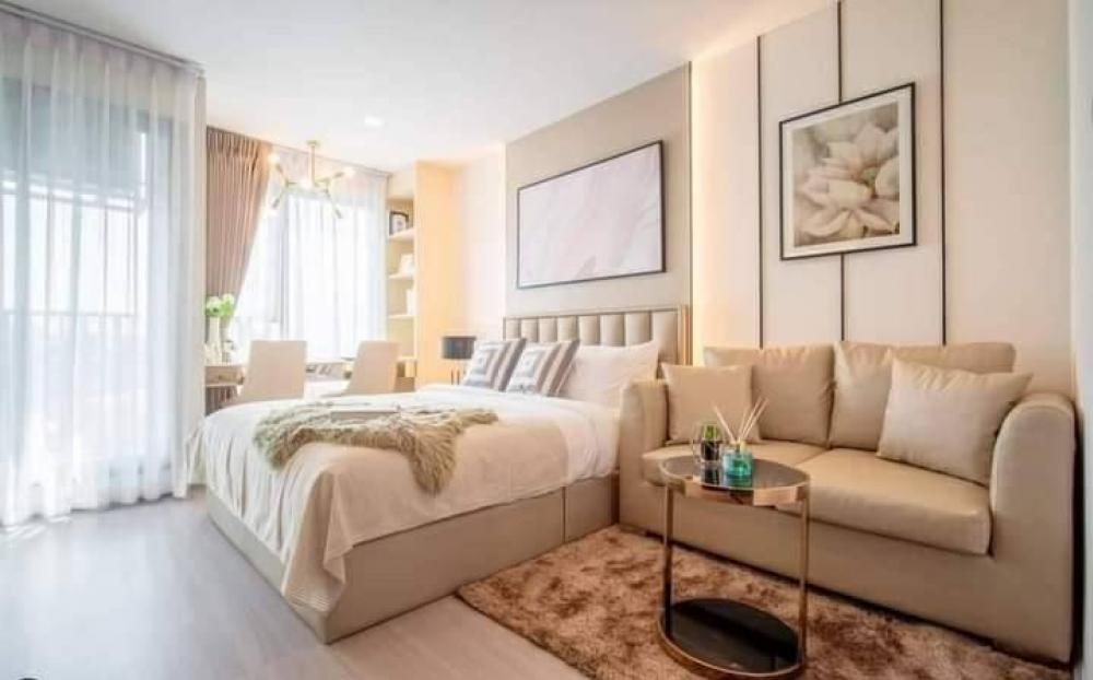 For RentCondoLadprao, Central Ladprao : 💫 For rent, Life Ladprao Condo, studio room, very beautiful decoration. Full built-in Electrical appliances, building A, 20th floor, condominium next to BTS Lad Phrao Intersection