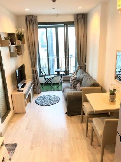เช่าคอนโดพระราม 9 เพชรบุรีตัดใหม่ : For Rent Ideo Mobi Rama 9 (31 sqm.)