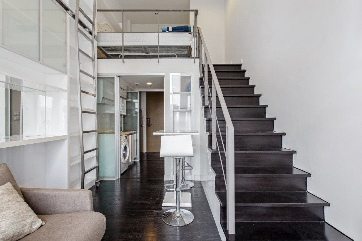 For RentCondoSukhumvit, Asoke, Thonglor : Condo for rent in Thonglor area, Ideo morph38, duplexes room.