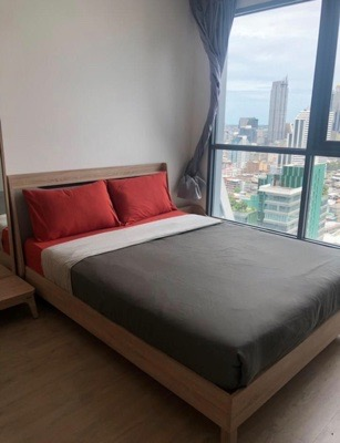 For RentCondoSiam Paragon ,Chulalongkorn,Samyan : Condo for rent: Ideo Q Chula - Samyan 18,000 baht / month, 29 sq m. 1 Studio, complete appliances, near Sam Yan MRT