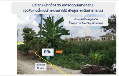 ขายที่ดินอ่อนนุช อุดมสุข : ขายที่ดินเปล่า ด่วน!!! ซ.อ่อนนุช 70/1 แยก2-17 เนิ้อที่ 180 ตร.ว. ใกล้ ถ.พัฒนาการตัดใหม่ เพียง 950 เมตร