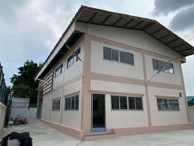 เช่าโกดังราษฎร์บูรณะ สุขสวัสดิ์ : ให้เช่าโกดัง พร้อมสำนักงาน และบ้านพัก พื้นที่ 146 ตารางวา ถนนสุขสวัสดิ์ 70 ซอยครุใน 1 Renovate ใหม่