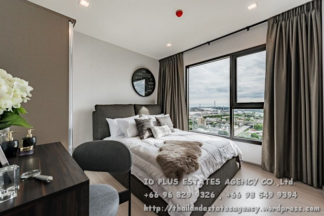 For RentCondoOnnut, Udomsuk : Life Sukhumvit 62 Condo for rent: 1 bedroom 30 sqm. On 23rd floor River View.With nice decorated and fully furnished and electrical appliances. Just 200 m. to BTS Bangchak, 500 m. to up and down point Chalerm Maha Nakh